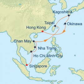 Taiwan Vietnam and Japan Celebrity Cruises Cruise