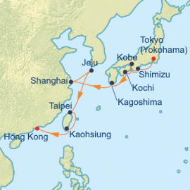 Japan China and Taiwan Celebrity Cruises Cruise