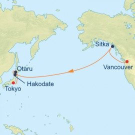 Bering Sea and Japan Transpacific Celebrity Cruises Cruise