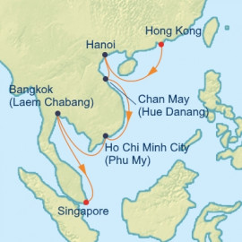 Vietnam and Thailand  Celebrity Cruises Cruise