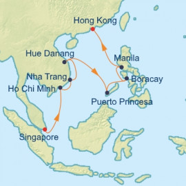 Philippines and Vietnam Celebrity Cruises Cruise