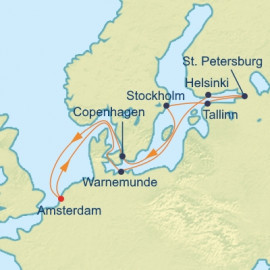 Scandinavia and St Petersburg Celebrity Cruises Cruise