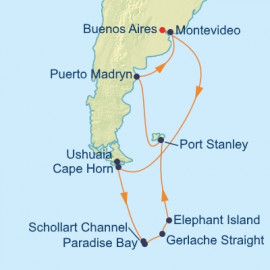 Argentina and Antarctica Itinerary