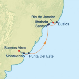 Argentina and Uruguay and Brazil Celebrity Cruises Cruise