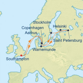 Scandinavia and Saint Petersburg Itinerary
