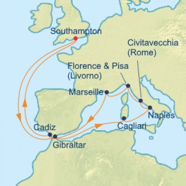 Italy and Mediterranean  Celebrity Cruises Cruise