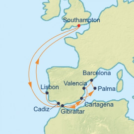 Spain and Portugal Mediterranean Celebrity Cruises Cruise