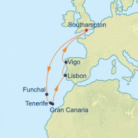 Spain Portugal and Canary Celebrity Cruises Cruise
