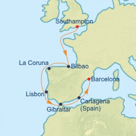 Uk Spain and Portugal Celebrity Cruises Cruise
