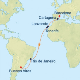 Canary Islands and Argentina Celebrity Cruises Cruise