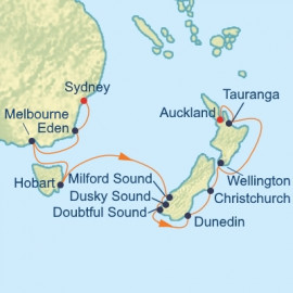 Australia Tasmania and New Zealand Itinerary