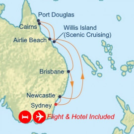 Fly Stay Great Barrier Reef Celebrity Cruises Cruise