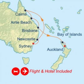 Fly Stay Great Barrier Reef Itinerary