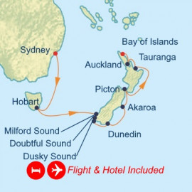 Fly Stay New Zealand Celebrity Cruises Cruise