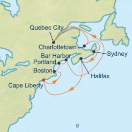 Canada and New England Celebrity Cruises Cruise