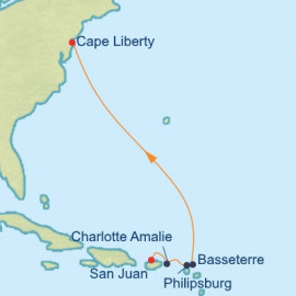 San Juan to New Jersey Celebrity Cruises Cruise