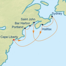 Maine and Canada Celebrity Cruises Cruise
