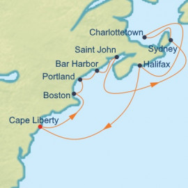 Boston Maine and Canada Celebrity Cruises Cruise