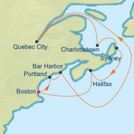 Boston, Maine and Canada Celebrity Cruises Cruise