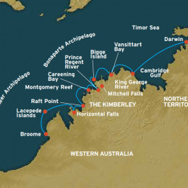 The Kimberley Coral Expeditions Cruise
