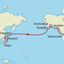 Japan and Alaska Itinerary