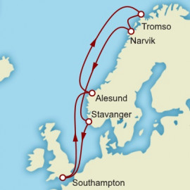 Norway and Northern Lights Cunard Cruise
