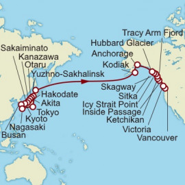 Alaska and Japan Itinerary
