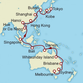 Melbourne to Tokyo Itinerary