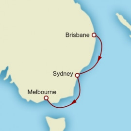Brisbane to Melbourne Cunard Cruise