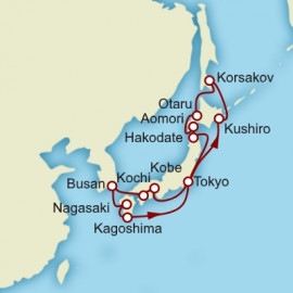 Japan Grand Voyage Cunard Cruise