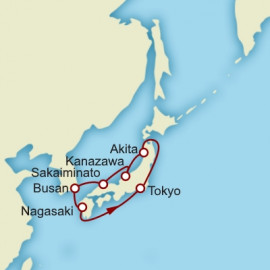 Japan Circumnavigation Cunard Cruise