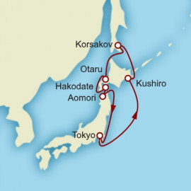 Northern Japan Hokkaido And Russia Cunard Cruise