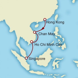 Hong Kong To Singapore Cunard Cruise