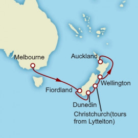 New Zealand Cunard Cruise