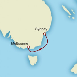Melbourne to Sydney Cunard Cruise