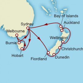 Australia and New Zealand Cunard Cruise