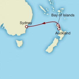 Auckland to Sydney Itinerary