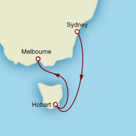 Sydney to Melbourne Cunard Cruise