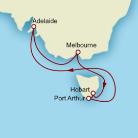 Tasmania and Adelaide Cunard Cruise