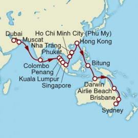 Dubai to Sydney Itinerary