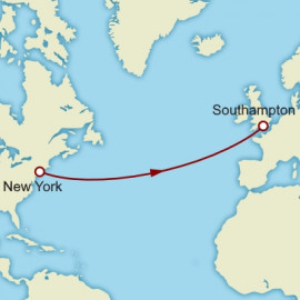 New York to Southampton Cunard Cruise