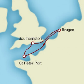 Bruges And Guernsey Itinerary