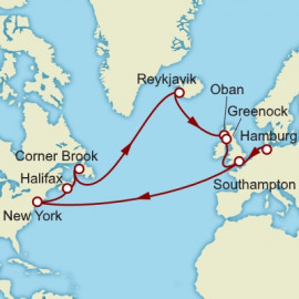 Hamburg to Southampton Itinerary