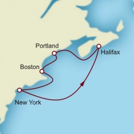 Independence Day Celebration Halifax and Boston Short Break Cunard Cruise