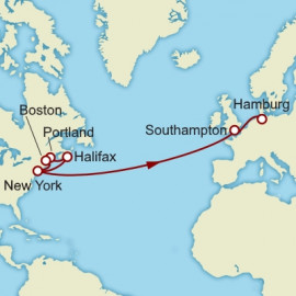 New York to Hamburg Itinerary