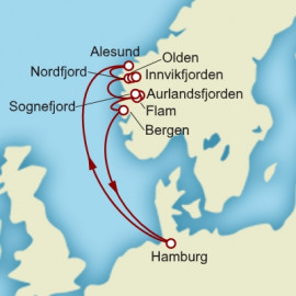 Round trip from Hamburg Itinerary