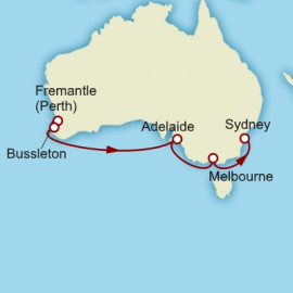 Fremantle to Sydney Cunard Cruise