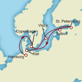 Scandinavia and Russia Cunard Cruise
