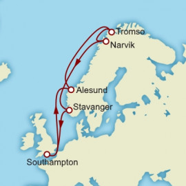 Norway Cunard Cruise