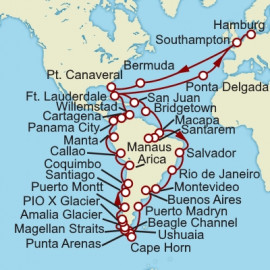 South America Discovery Cunard Cruise